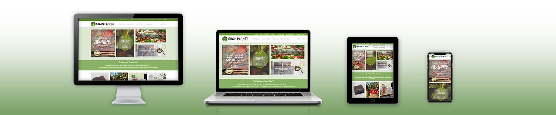 webshop fra Kozmonaut Marketing
